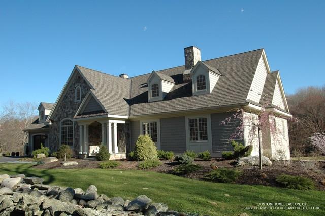 Energy Efficient Custom Home Design Traditional
