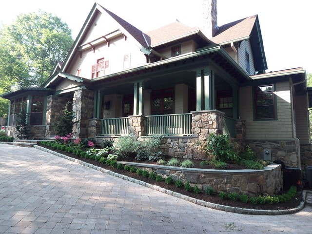 Englewood pool project traditional-exterior