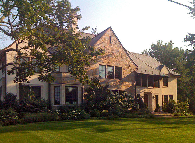 English Arts & Crafts House traditional-exterior