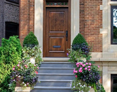 English City House Front Door traditional-exterior