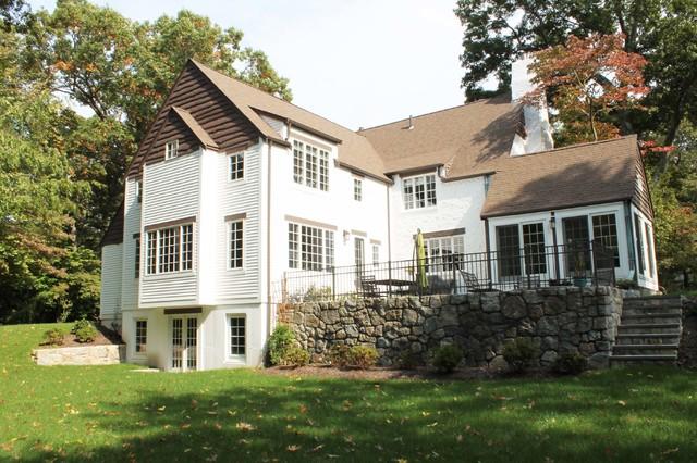English Cottage Addition Traditional Exterior Boston