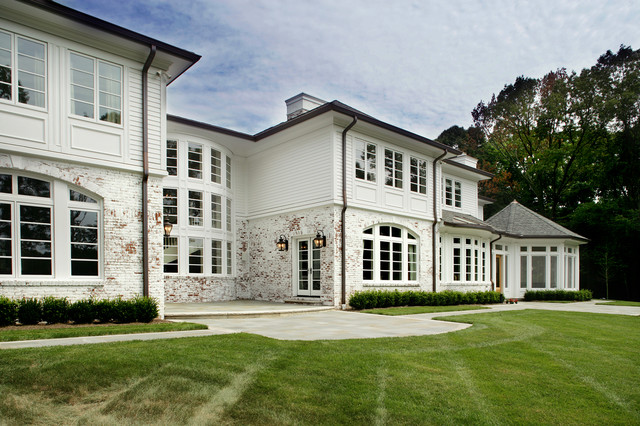 English Country In Tenafly NJ traditional-exterior