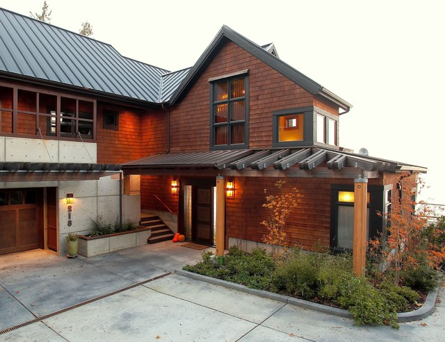 Entry With Arbor Victorian Exterior Seattle By