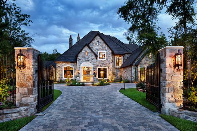 English Manor traditional-exterior