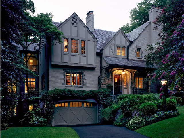 English Tudor Elegance Traditional Exterior Dc Metro By Richard Leggin Architects