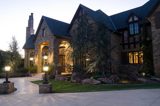 English Tudor Estate traditional-exterior