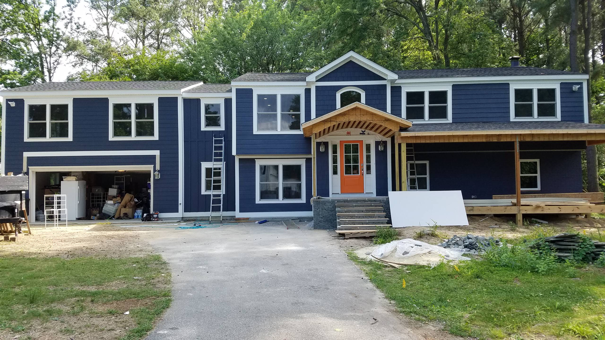Entire Home Remodel- before and in process
