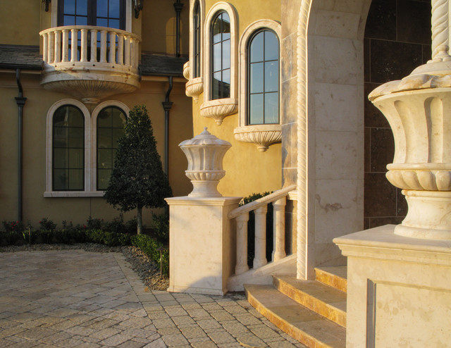 Entry and Balcony View mediterranean-exterior
