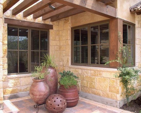 Mediterranean front porch home design photos decor for Mediterranean front porch designs