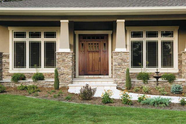Exterior Windows entry door - craftsman - exterior - san francisco -pella doors