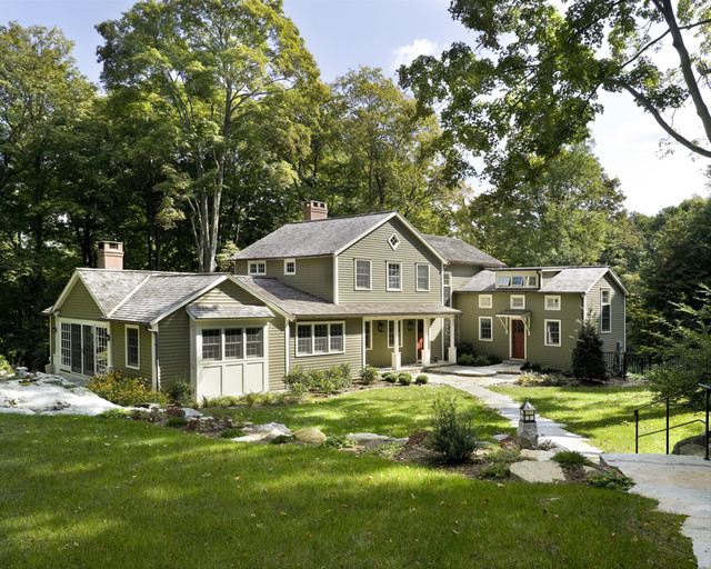 Entry Elevation Traditional Exterior New York By Rob Sanders Architects Llc