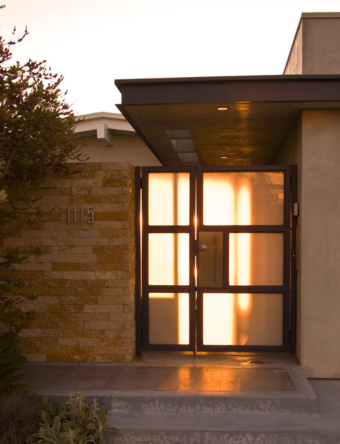 Entry Gate midcentury-entry