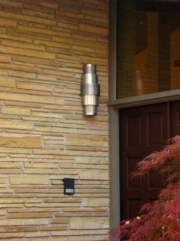 Entry Lights contemporary-exterior