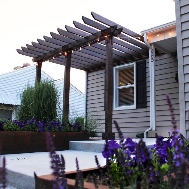entry pergola modern exterior salt lake city by. Black Bedroom Furniture Sets. Home Design Ideas