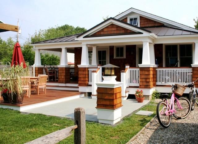 Entry Porch beach-style-exterior