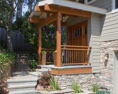 Entry View contemporary-exterior
