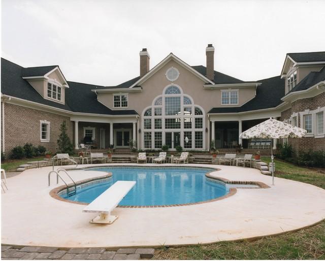 Equestrian Estate traditional-exterior