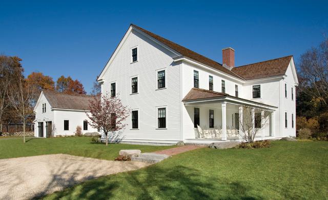 Equestrian Estate farmhouse-exterior