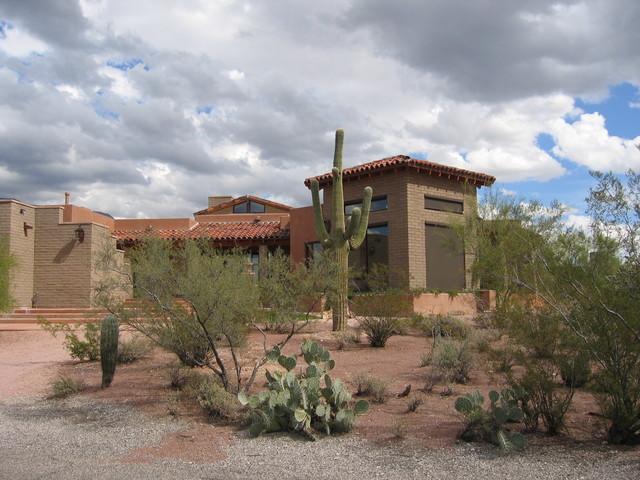 Escalante Residence Southwestern Exterior Phoenix