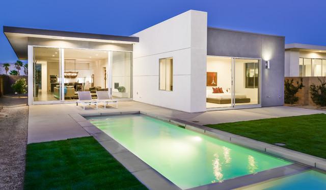 Escena Homes I3 Model Palm Springs CA Modern Exterior