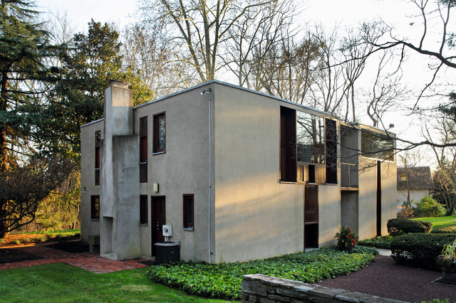 Esherick House Louis Kahn Modern Exterior Other Metro