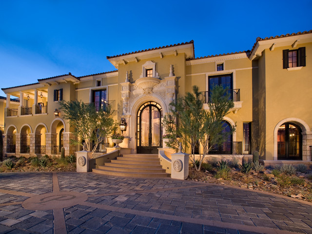 Houzz exterior home design joy studio design gallery for Mediterranean style exterior