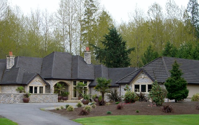 Estate Remodel and Addition traditional-exterior