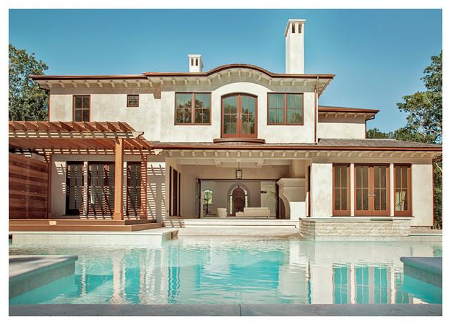 european hampton villa mediterran h user new york von perello building corporation. Black Bedroom Furniture Sets. Home Design Ideas