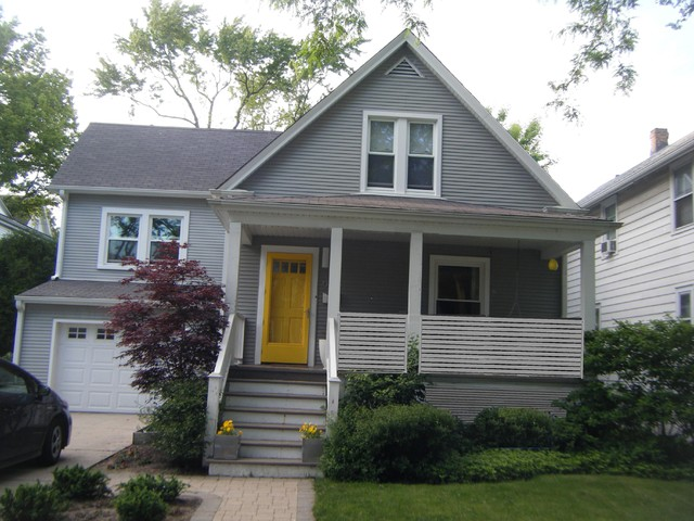 Evanston Residence, Exterior Cottage Makeover traditional-exterior