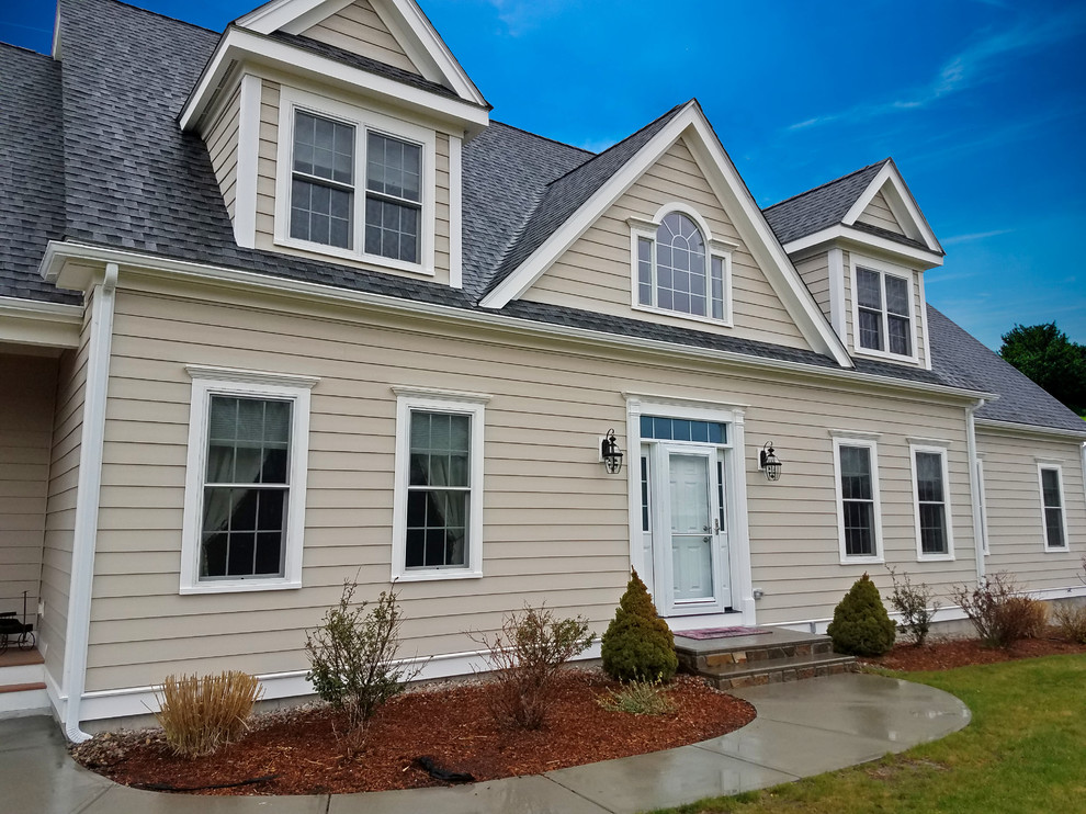 Everlast Composite Siding Provia Doors Millis Ma 02054 Traditional Exterior Boston By United Home Experts