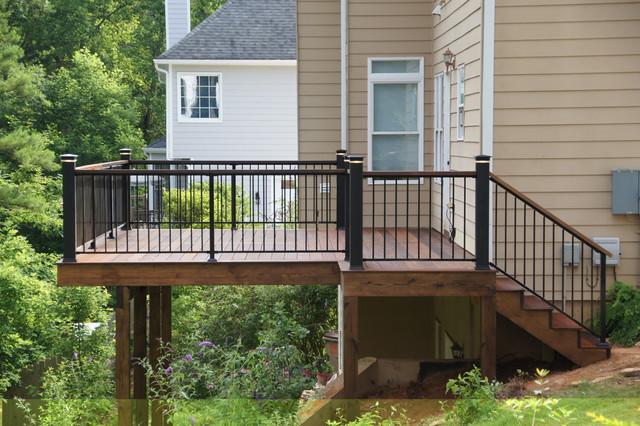 Exotic Hardwood Decks traditional-exterior