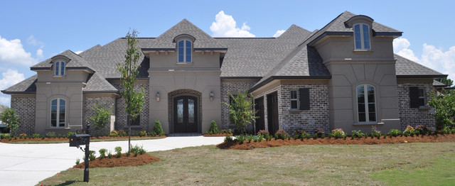 Exquisite French Country Home Traditional Exterior New Orleans By Welbilt Custom Homes Inc