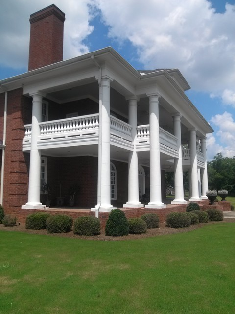 Exterior Architectural Cast Stone Traditional Exterior Atlanta By Artistic Accents