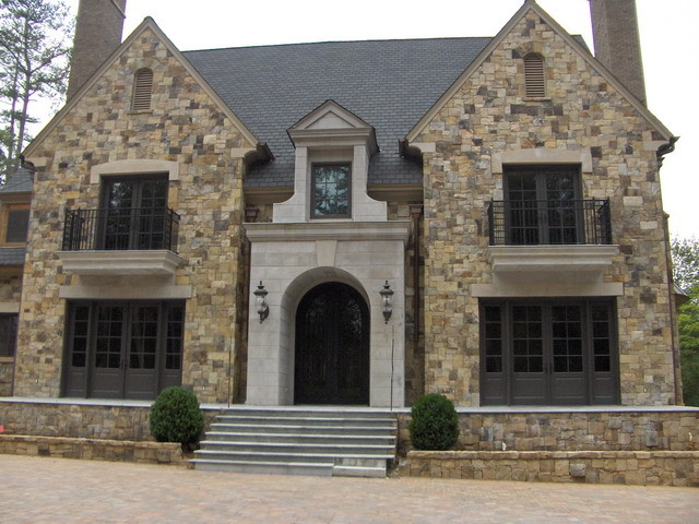 Exterior Architectural Accents : Exterior architectural cast stone traditional