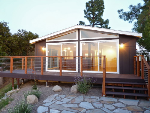 Hereu0027s The Wonderfully Finished Manufactured Home, Along With The Designers  Own Notes: