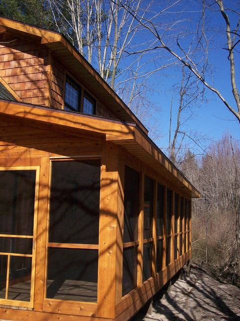 Exterior Cedar Lap Siding