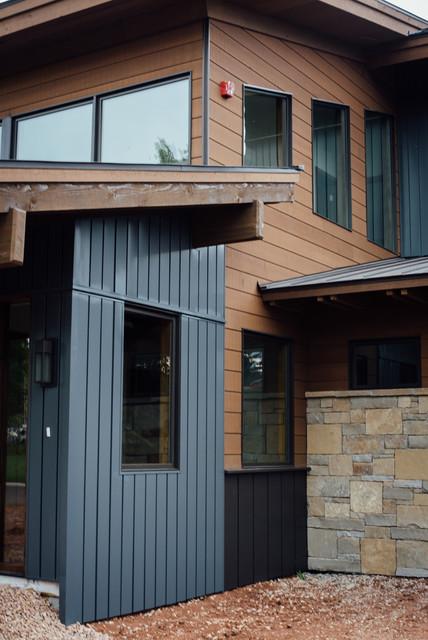 Exterior Cedar Siding - Modern - Exterior - salt lake city ...