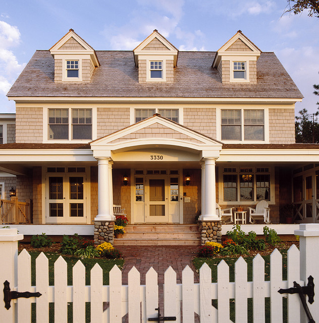 Exterior - Classic American Dutch Colonial traditional exterior