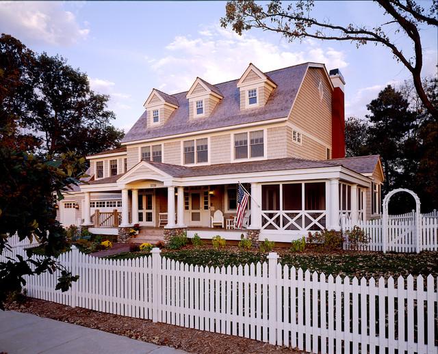 Exterior Classic American Dutch Colonial Victorian Exterior