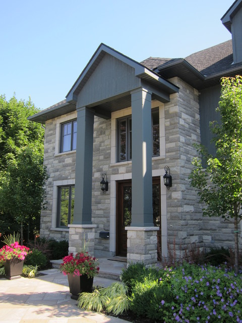Exterior columns contemporary exterior ottawa by for Exterior by design ottawa