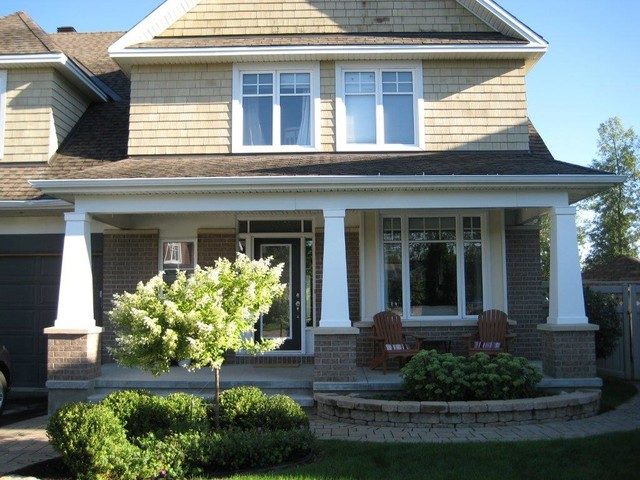 exterior columns craftsman exterior ottawa by ForExterior Columns For Houses