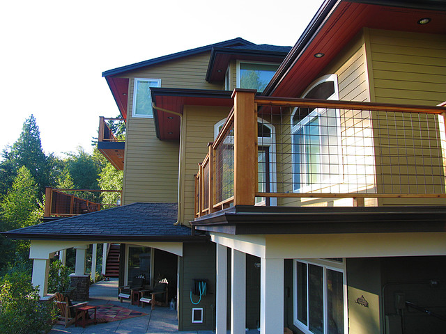 Exterior Craftsman Paint Color Bold Accents Craftsman Exterior Seattle By Colorwhiz