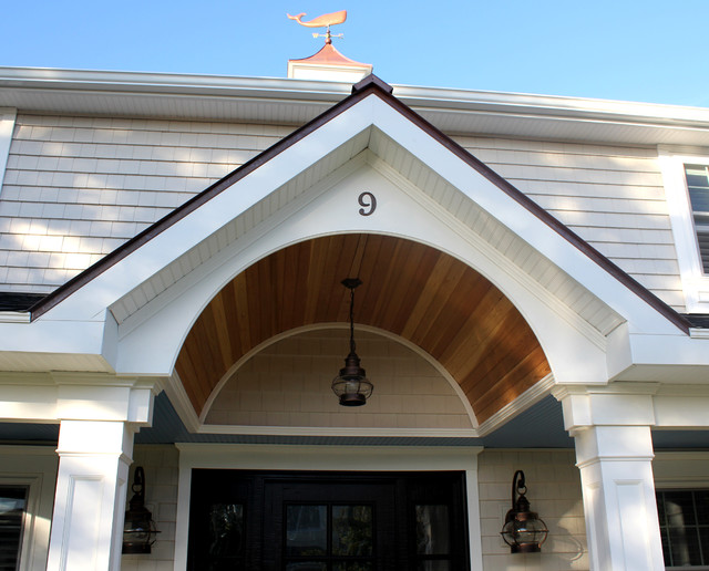 Cape cod style remodel beach style exterior for Cape style home renovations