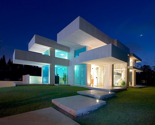 Exterior contemporary exterior other by elad gonen for The most modern house