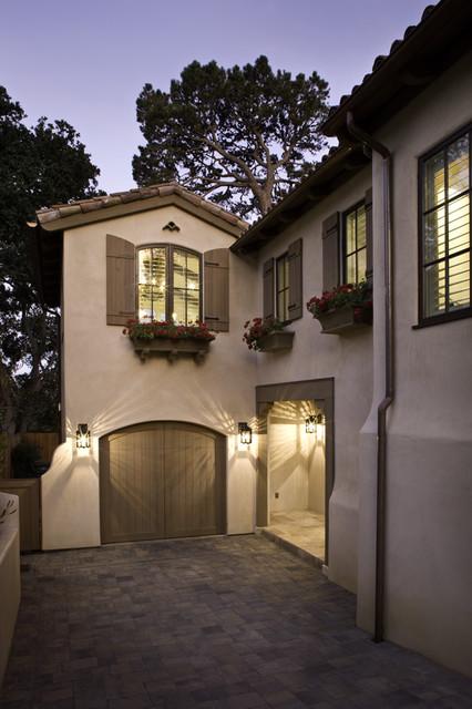 Exterior, Entry, Living Room, Kitchen and Bedroom mediterranean-exterior