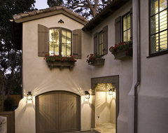 Exterior, Entry, Living Room, Kitchen and Bedroom mediterranean-exterior