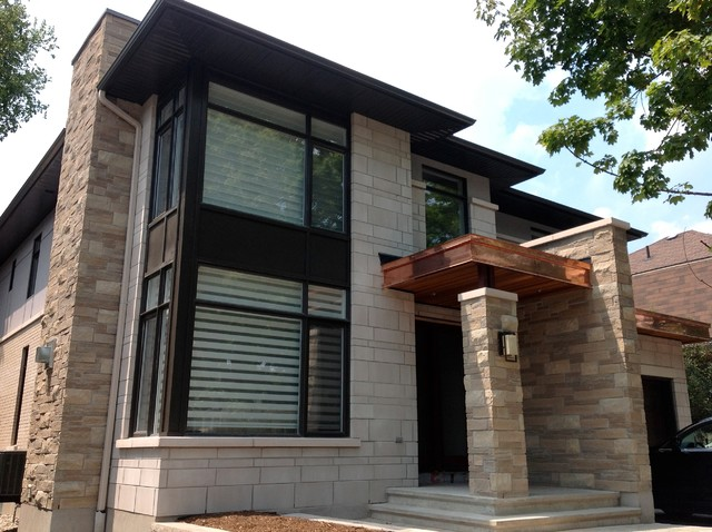 Exterior finishes contemporary exterior ottawa by for Exterior house finishes