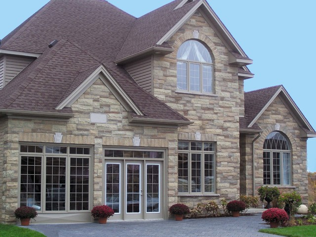 Exterior Finishes Traditional Exterior Ottawa By Merkley Supply