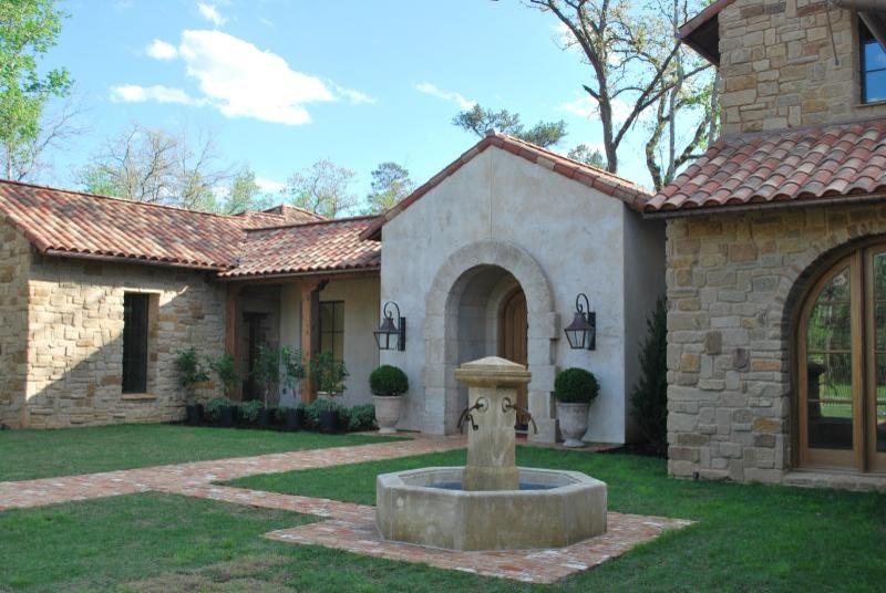 Exterior Fountain Feature