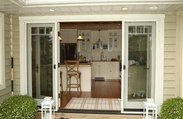 Exterior French Terrace Doors Craftsman Exterior